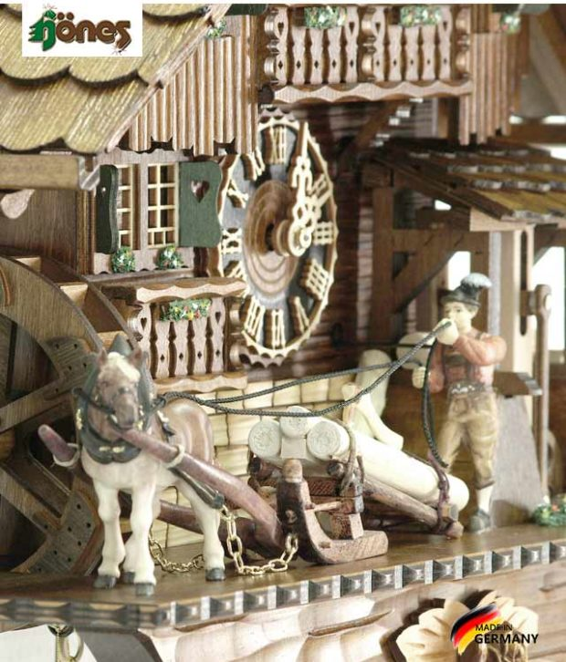 Часы настенные механические с кукушкой Hönes_86230t... Страна: Германия (Шварцвальд) купить на triberg.ru