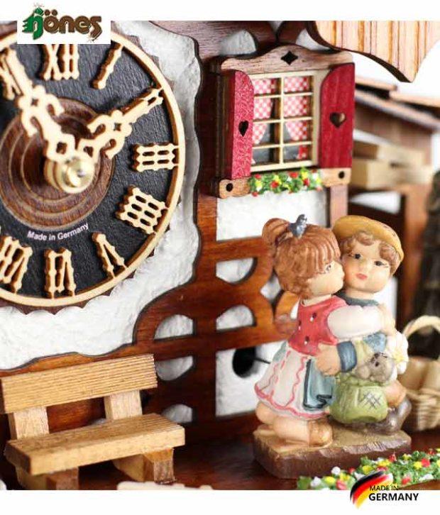 Часы настенные механические с кукушкой Hönes_86233t... Страна: Германия (Шварцвальд) купить на triberg.ru