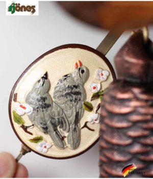 Часы настенные механические с кукушкой Hönes_86233t.... Страна: Германия (Шварцвальд) купить на triberg.ru