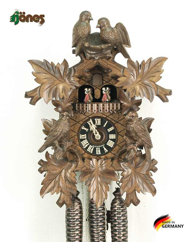 Часы настенные механические с кукушкой Hönes_86249_5 Страна: Германия (Шварцвальд) купить на triberg.ru