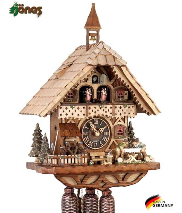 Часы настенные механические с кукушкой Hönes_86258t Страна: Германия (Шварцвальд) купить на triberg.ru