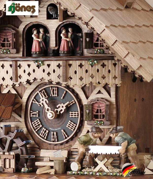 Часы настенные механические с кукушкой Hönes_86258t.. Страна: Германия (Шварцвальд) купить на triberg.ru