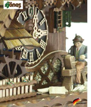 Часы настенные механические с кукушкой Hönes_86266t... Страна: Германия (Шварцвальд) купить на triberg.ru
