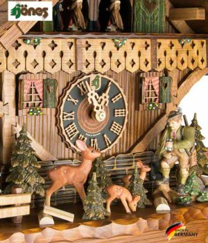Часы настенные механические с кукушкой Hönes_86276t... Страна: Германия (Шварцвальд) купить на triberg.ru