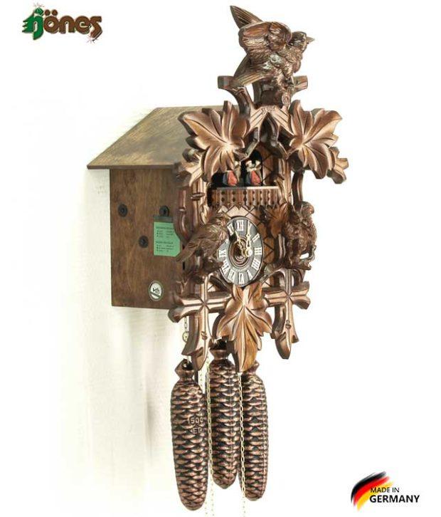 Часы настенные механические с кукушкой Hönes_8633_4nu. Страна: Германия (Шварцвальд) купить на triberg.ru