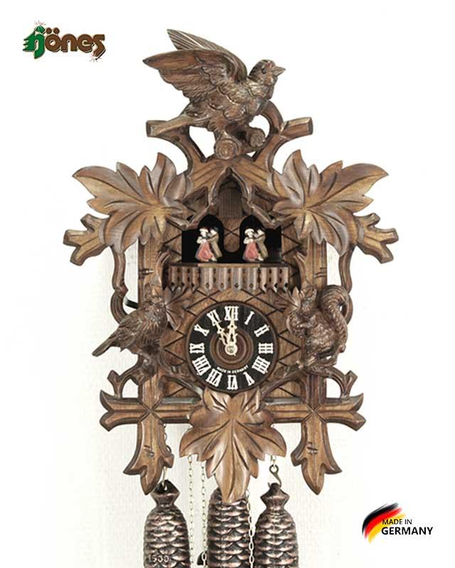 Часы настенные механические с кукушкой Hönes_8633_4nu Страна: Германия (Шварцвальд) купить на triberg.ru