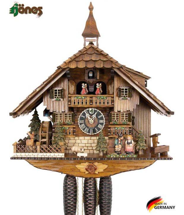 Часы настенные механические с кукушкой Hönes_8638t Страна: Германия (Шварцвальд) купить на triberg.ru