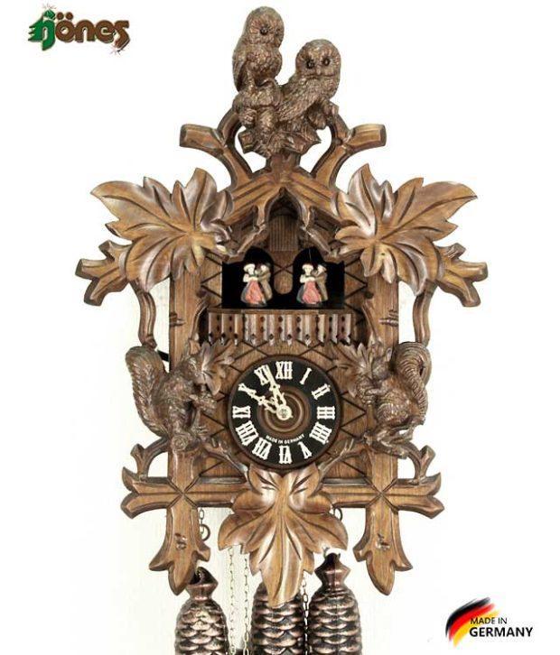 Часы настенные механические с кукушкой Hönes_8663_4nu Страна: Германия (Шварцвальд) купить на triberg.ru