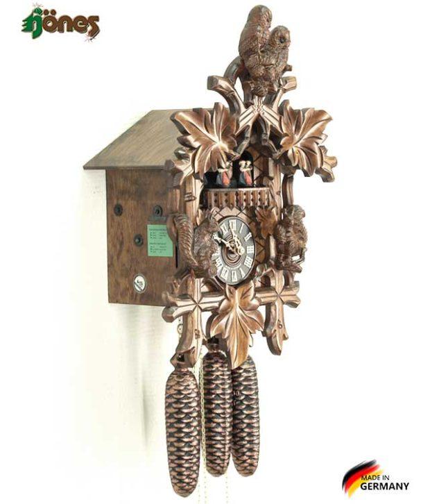 Часы настенные механические с кукушкой Hönes_8663_4nu. Страна: Германия (Шварцвальд) купить на triberg.ru