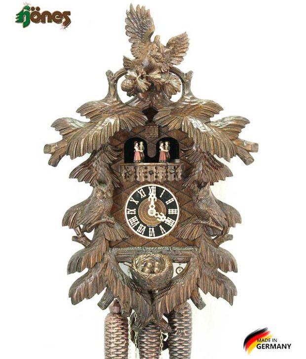 Часы настенные механические с кукушкой Hönes_86715_5nu Страна: Германия (Шварцвальд) купить на triberg.ru