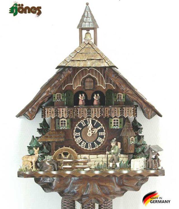 Часы настенные механические с кукушкой Hönes_86740t Страна: Германия (Шварцвальд) купить на triberg.ru