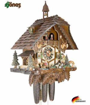 Часы настенные механические с кукушкой Hönes_86752t. Страна: Германия (Шварцвальд) купить на triberg.ru