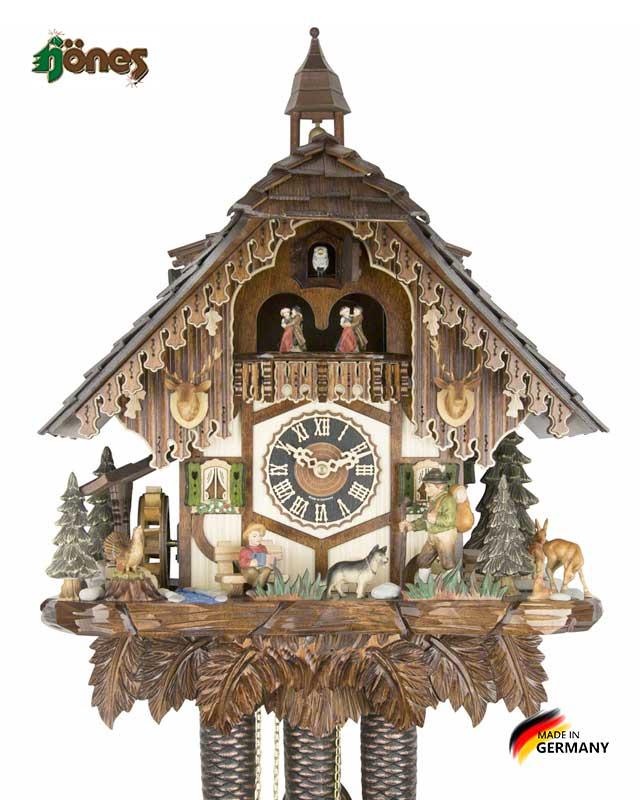 Часы настенные механические с кукушкой Hönes_86752t Страна: Германия (Шварцвальд) купить на triberg.ru