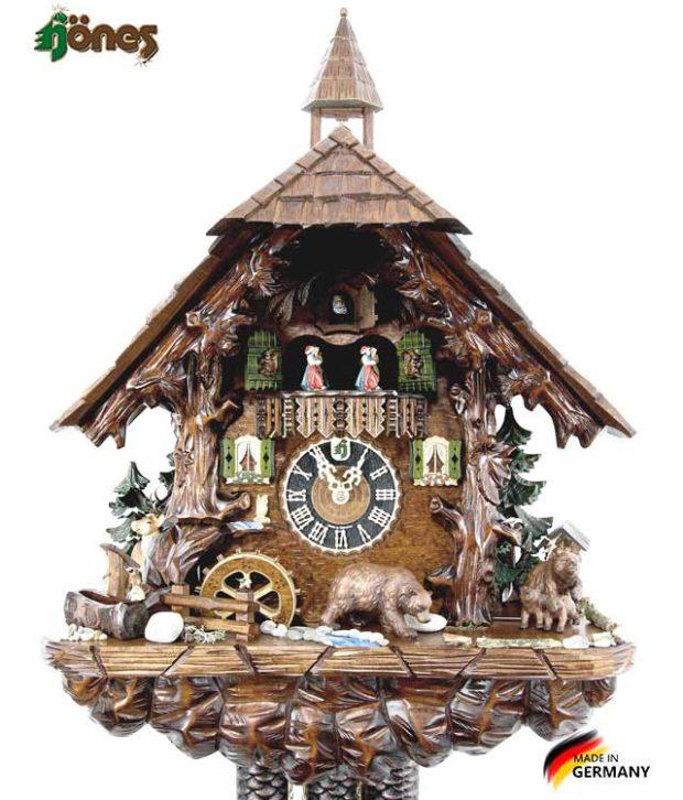 Часы настенные механические с кукушкой Hönes_86760t Страна: Германия (Шварцвальд) купить на triberg.ru