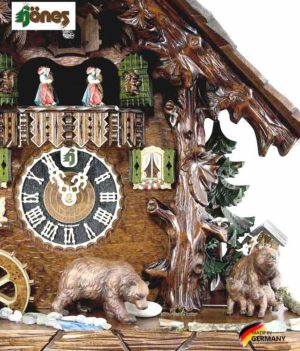 Часы настенные механические с кукушкой Hönes_86760t... Страна: Германия (Шварцвальд) купить на triberg.ru