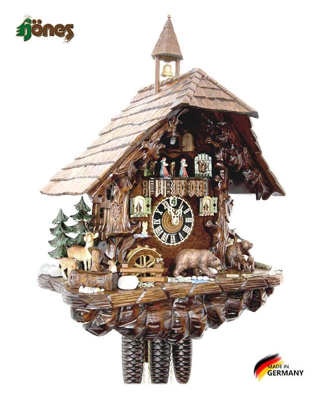 Часы настенные механические с кукушкой Hönes_86760t. Страна: Германия (Шварцвальд) купить на triberg.ru