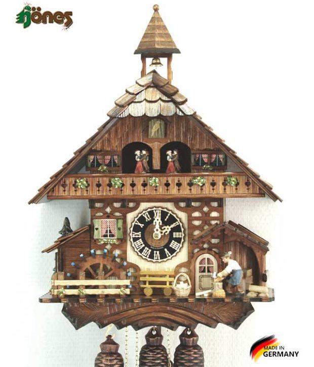 Часы настенные механические с кукушкой Hönes_86787t Страна: Германия (Шварцвальд) купить на triberg.ru
