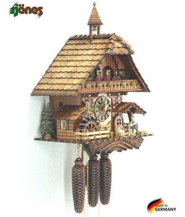 Часы настенные механические с кукушкой Hönes_86787t. Страна: Германия (Шварцвальд) купить на triberg.ru