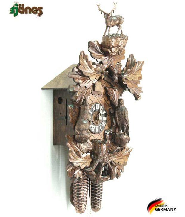 Часы настенные механические с кукушкой Hönes_8748t_4nu. Страна: Германия (Шварцвальд) купить на triberg.ru