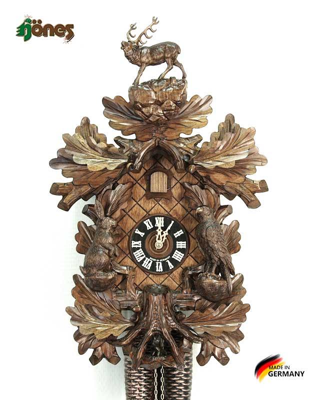 Часы настенные механические с кукушкой Hönes_8748t_4nu Страна: Германия (Шварцвальд) купить на triberg.ru