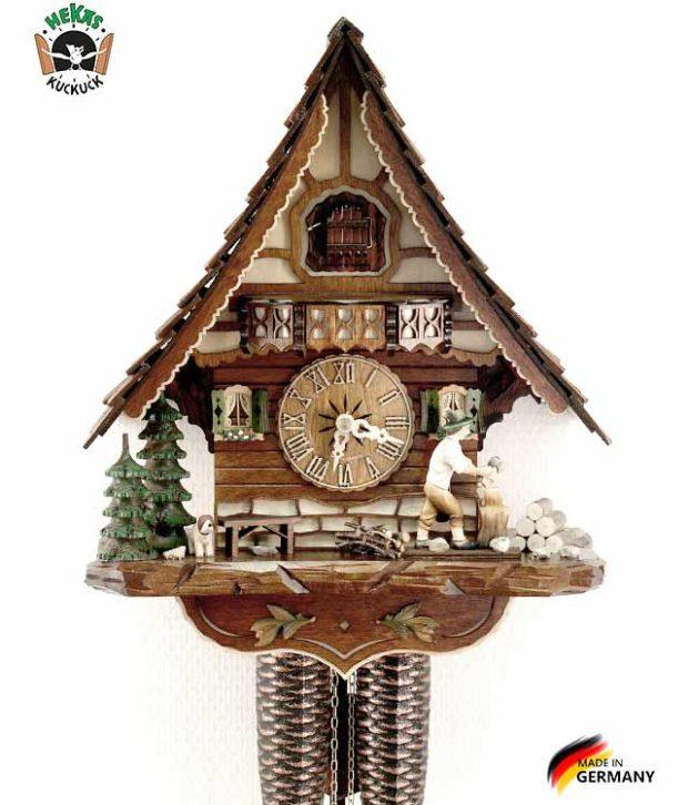 Часы настенные механические с кукушкой Hekas_816EX Страна: Германия (Шварцвальд) купить на triberg.ru