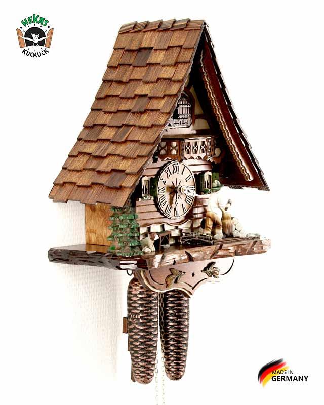 Часы настенные механические с кукушкой Hekas_816EX. Страна: Германия (Шварцвальд) купить на triberg.ru