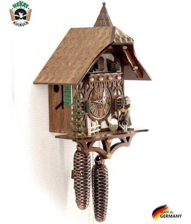 Часы настенные механические с кукушкой Hekas_877EX. Страна: Германия (Шварцвальд) купить на triberg.ru