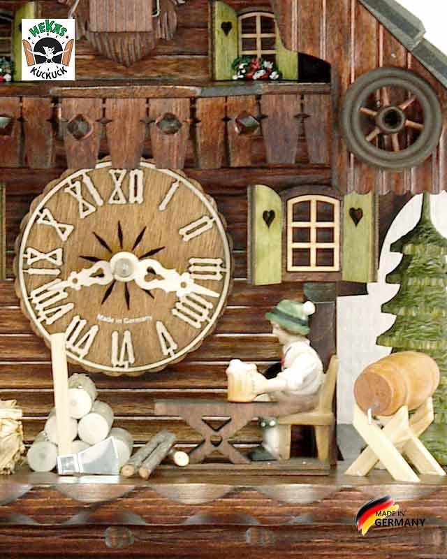 Часы настенные механические с кукушкой Hekas_879EX.. Страна: Германия (Шварцвальд) купить на triberg.ru