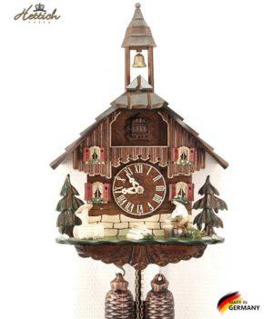 Часы настенные механические с кукушкой Hettich_8-19hh Страна: Германия (Шварцвальд) купить на triberg.ru