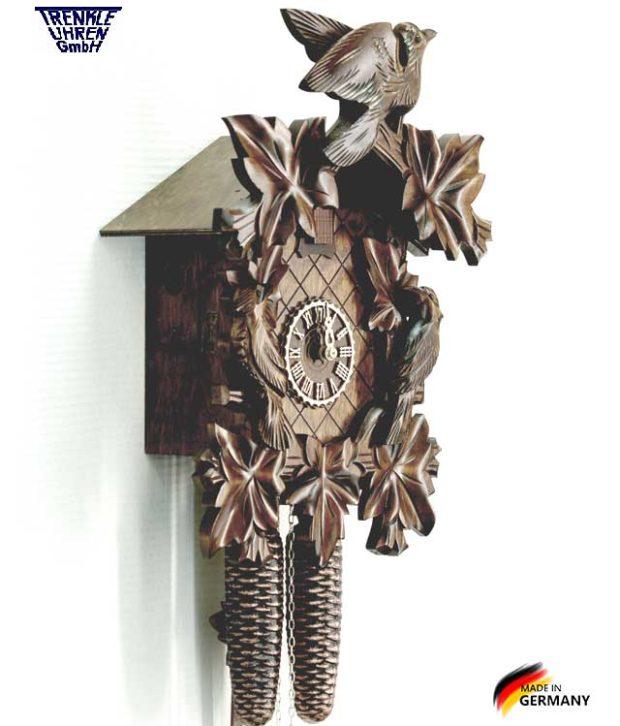 Часы настенные механические с кукушкой Trenkle_8101_4nu. Страна: Германия (Шварцвальд) купить на triberg.ru