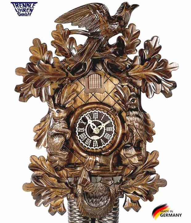 Часы настенные механические с кукушкой Trenkle_8365_4nu Страна: Германия (Шварцвальд) купить на triberg.ru