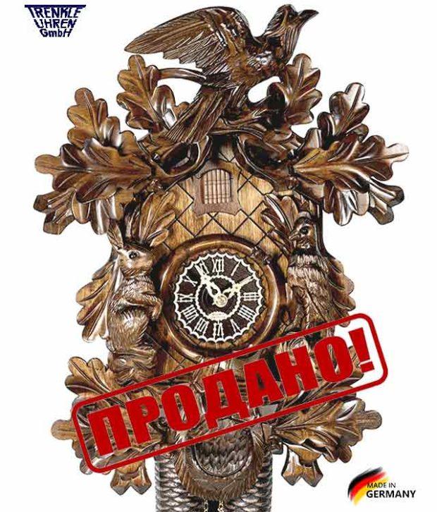 Часы настенные механические с кукушкой Trenkle_8365 Страна: Германия (Шварцвальд) купить на triberg.ru