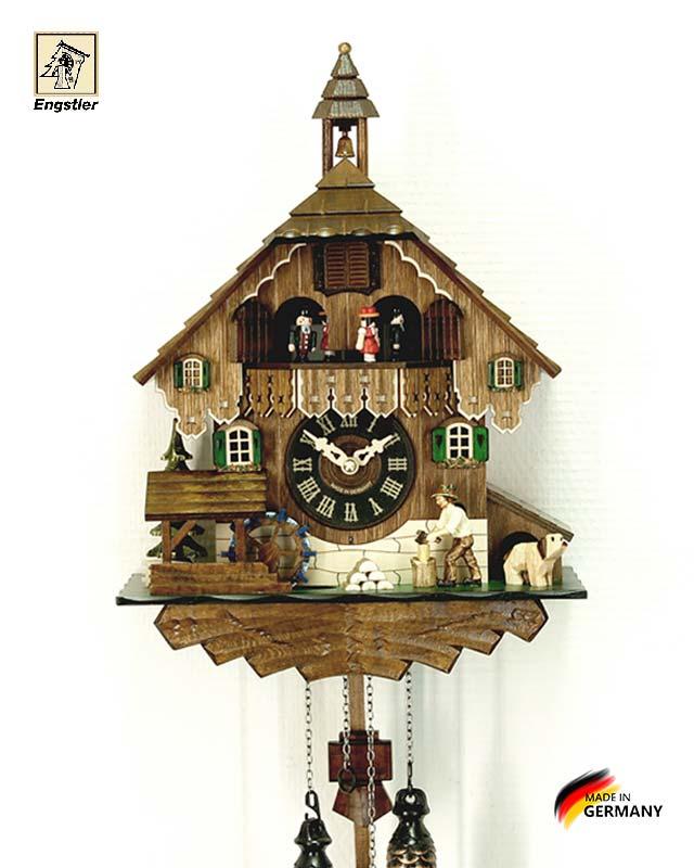 Часы настенные с кукушкой Engstler-448qmt Страна: Германия (Шварцвальд) купить на triberg.ru