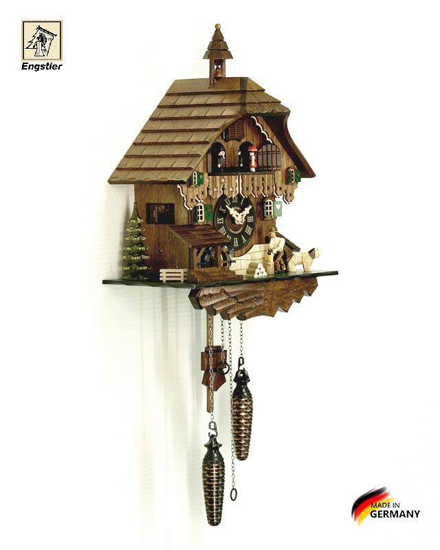 Часы настенные с кукушкой Engstler-448qmt. Страна: Германия (Шварцвальд) купить на triberg.ru