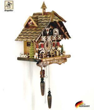 Часы настенные с кукушкой Engstler-4491qmt. Страна: Германия (Шварцвальд) купить на triberg.ru