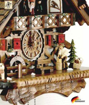 Часы настенные с кукушкой Engstler-4491qmt.. Страна: Германия (Шварцвальд) купить на triberg.ru