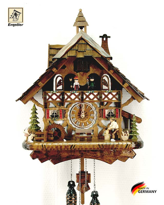 Часы настенные с кукушкой Engstler-4491qmt Страна: Германия (Шварцвальд) купить на triberg.ru