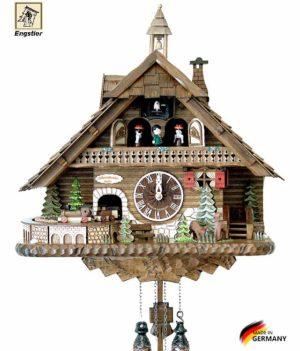 Часы настенные с кукушкой Engstler-45110qmt Страна: Германия (Шварцвальд) купить на triberg.ru