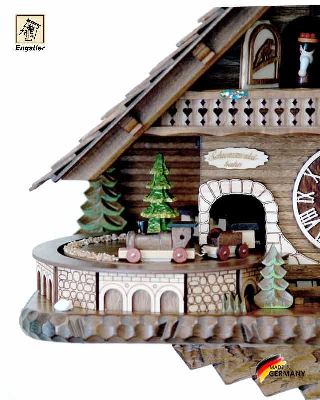Часы настенные с кукушкой Engstler-45110qmt.. Страна: Германия (Шварцвальд) купить на triberg.ru