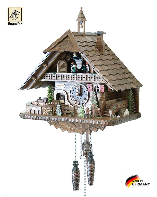 Часы настенные с кукушкой Engstler-45110qmt. Страна: Германия (Шварцвальд) купить на triberg.ru