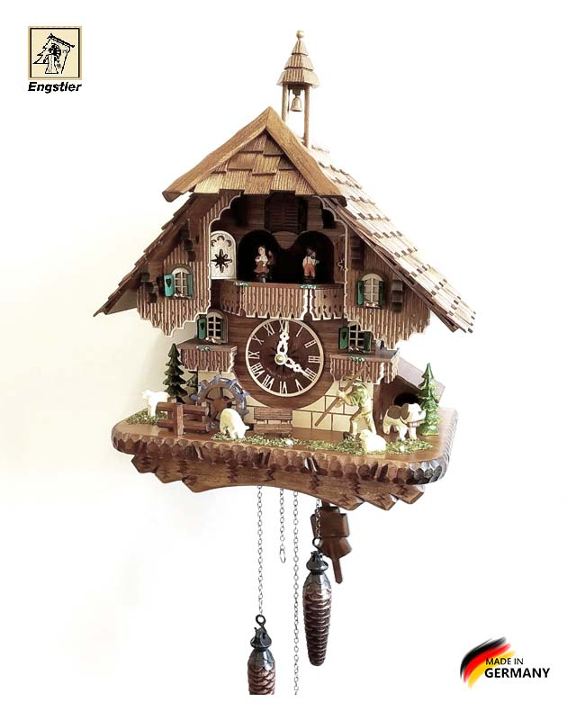 Часы настенные с кукушкой Engstler-46212qmt. Страна: Германия (Шварцвальд) купить на triberg.ru
