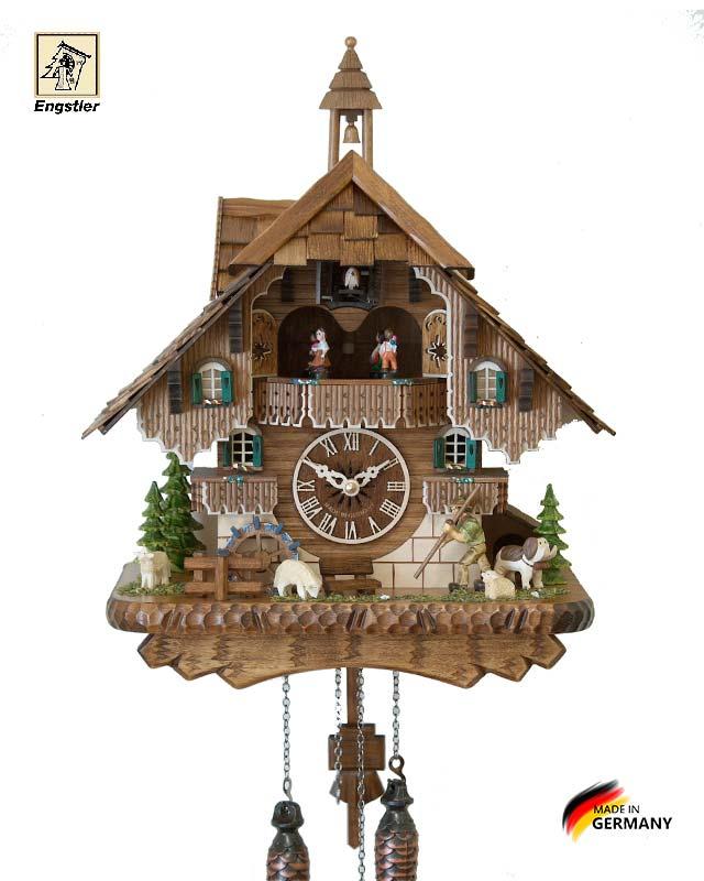 Часы настенные с кукушкой Engstler-46212qmt Страна: Германия (Шварцвальд) купить на triberg.ru