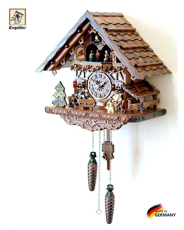 Настенные часы с кукушкой Engstler-4691qmt. Страна: Германия (Шварцвальд) купить на triberg.ru