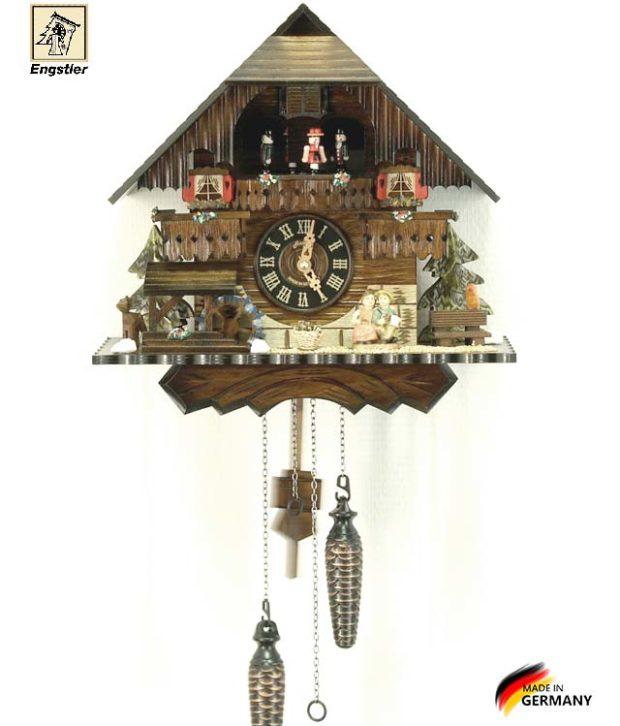 Часы настенные с кукушкой Engstler-4704qmt Страна: Германия (Шварцвальд) купить на triberg.ru