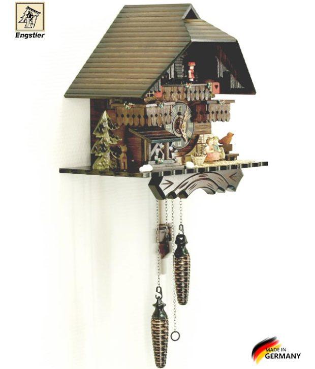 Часы настенные с кукушкой Engstler-4704qmt. Страна: Германия (Шварцвальд) купить на triberg.ru
