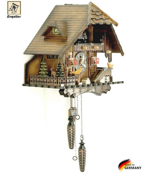 Часы настенные с кукушкой Engstler-472qmt. Страна: Германия (Шварцвальд) купить на triberg.ru
