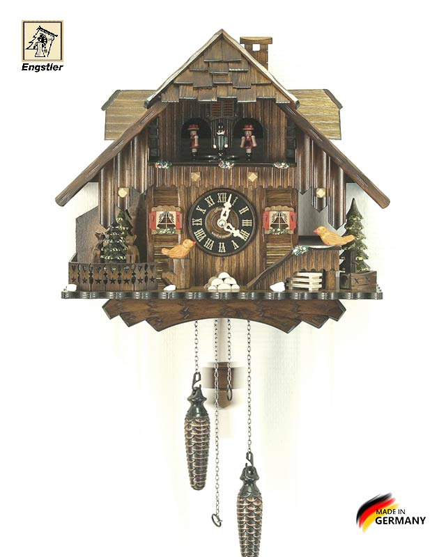 Часы настенные с кукушкой Engstler-472qmt Страна: Германия (Шварцвальд) купить на triberg.ru