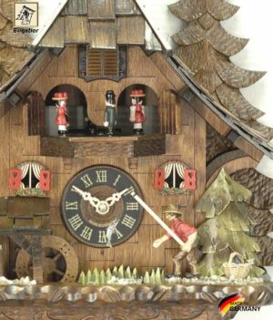 Часы настенные с кукушкой Engstler-4739qmt.. Страна: Германия (Шварцвальд) купить на triberg.ru