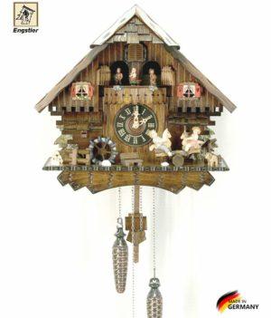 Часы настенные с кукушкой Engstler-4746qmt Страна: Германия (Шварцвальд) купить на triberg.ru
