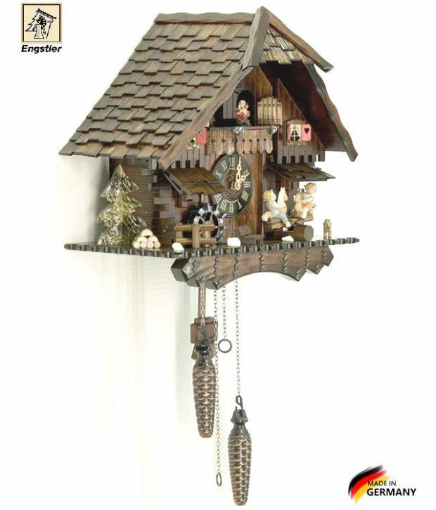 Часы настенные с кукушкой Engstler-4746qmt. Страна: Германия (Шварцвальд) купить на triberg.ru